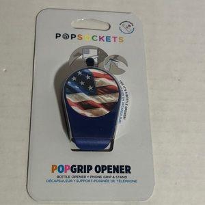 Popsocket Popgrip American Flag Bottle Opener